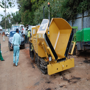 Road Works in Migori Town